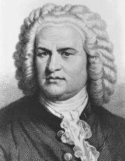 Johann Sebastian Bach b. 21 März 1685 d. 28 Juli 1750